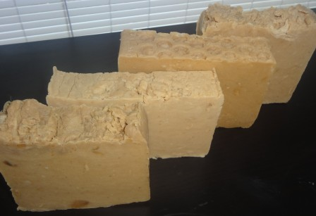 Rebatched soaps